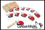 Number Match Busy bag - Dinosaur or Ladybugs
