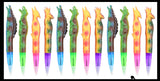 Dinosaur Pen - Soft Wiggly Cute Dino Ink Pen