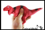 Stretchy Dinosaur Toy - Fidget - Stress - Fun - Squishy Toy - Sand Filled