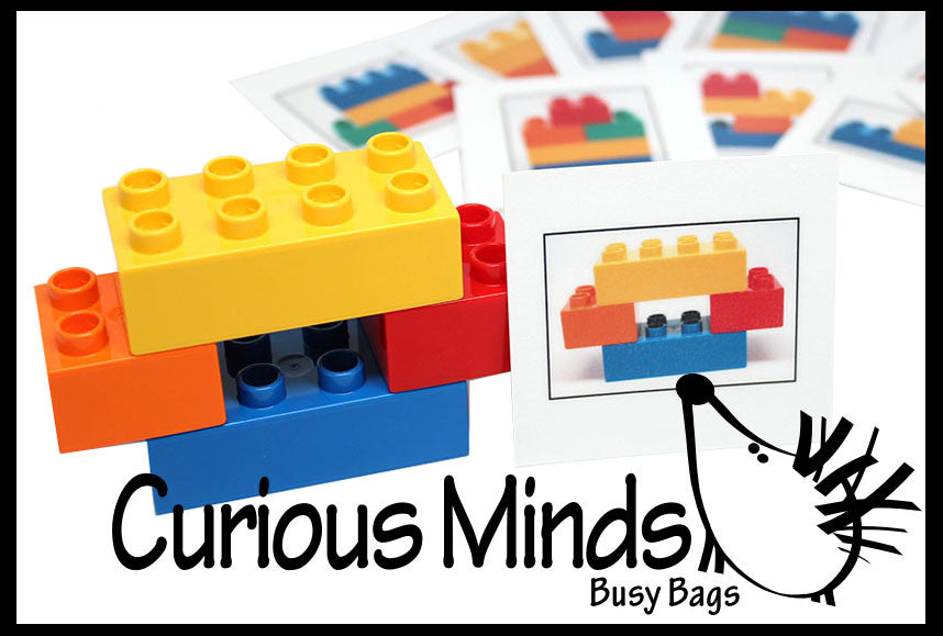 Lego Busy Bag - Pattern match with Lego or Duplo
