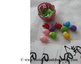Easter Basket Filler Busy Bag - Easter Number Activity - Filling Baskets