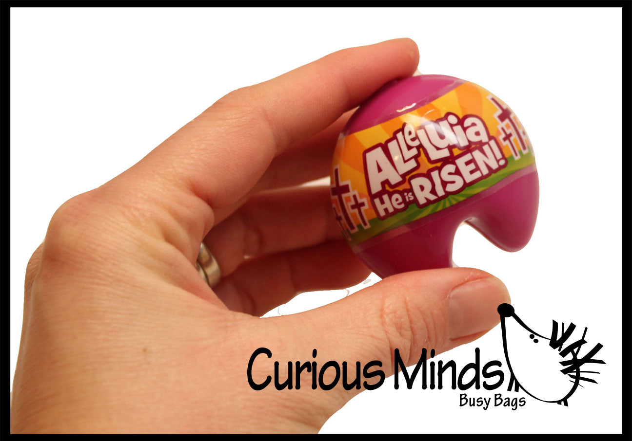 12 Prefilled Religious Bible Verse Fortune Cookie Easter Eggs Easter Hunt