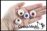 Eye Erasers - Eyeball Gross School Supply - Doctor, Optometrist Ophthalmology - Party Favor -Halloween Trick or Treat