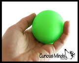 "Boxed 2.5"" Stretchy Squishy Squeeze Stress Ball Soft Doh Filling - Like Shaving Cream - Sensory, Fidget Toy"