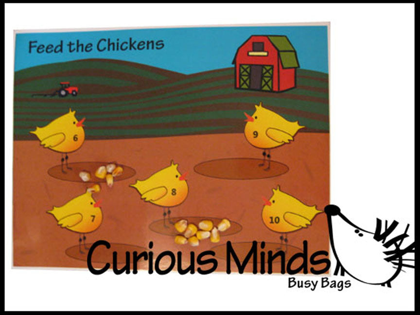 PDF DOWNLOAD - Feeding Chickens - Counting to 10
