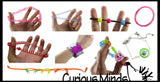 Fidget Jewelry Bundle - Set of 9  - Discreet Bracelets and Necklaces That Can Be Fidgeted With