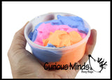 Fluffy Dough - Cloud Like Soft and Squishy  Slime - Putty - Goo