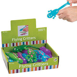 CLEARANCE - SALE - Stretchy Sling Shot Critters  - Shooting Flying Sensory Fidget Toy Party Favors