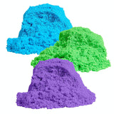 Foam Alive - Slow Flo - Moving Foam - Mossy, Spongy, Moving, Sensory Compound - Soft Play Sand
