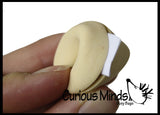 Cute Fortune Cookie Erasers - With Fortune in each one!  Adorable Eraser Novelty Prize