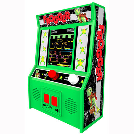 Frogger - Handheld Arcade Game - Battery Operated Mini Fun Retro Classic Video Game