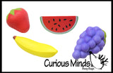 Fruit Stress Ball  -  Sensory, Stress, Fidget Toy