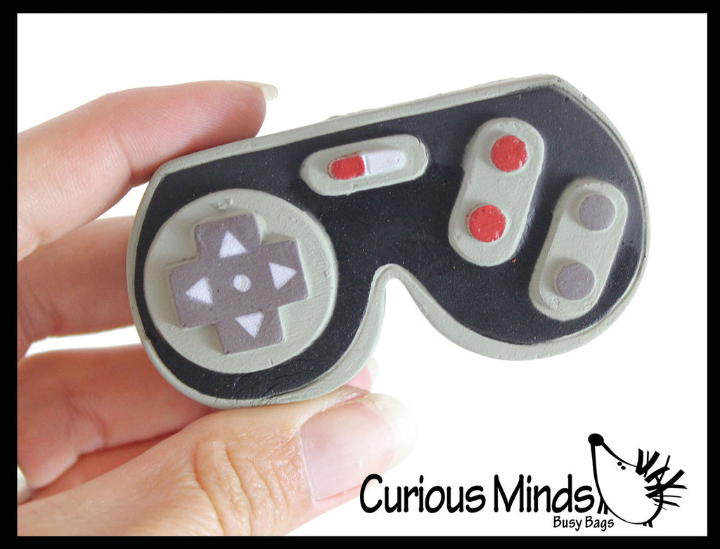 Video Game Remote Controller - Squishy Slow Rise Foam - Take Control of Your Attitude