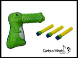 Crocodile Suction Cup Dart Gun Toy