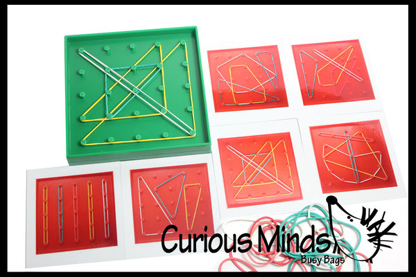 Pattern Matching Geoboard Learning Toy Early Math Toy