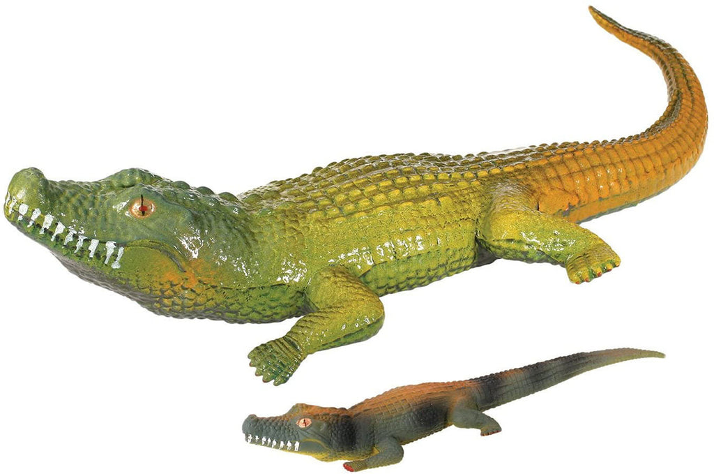 Jumbo Grow a Gator in Water - Add Water and it Grows up to 3ft - Alligator Crocodile Critter Toy Bath