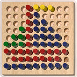 Tiny Wood Peg Board Toy