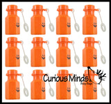Halloween Bubble Bottles - Mini Jack o Lantern Pumpkin Bubbles for Trick or Treat - Party Favors