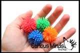 CLEARANCE SALE - Hedge Ball Pencil Toppers - Sensory Office Toy - Party Favor Classroom Prize