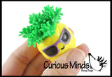 Cute Pinapple Hedge Balls -  Spiky Wooly Porcupine Balls - Sensory Novelty Toy