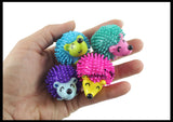 Hedgehog Patterns Busy Bag - Educational Toy with Cute Hedge Hog Figurines - Math Patterning Game