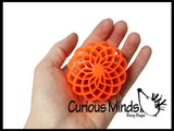 Flower Ball with Pipe Cleaners Busy Bag - Fine Motor