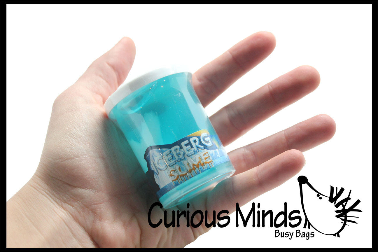 CLEARANCE SALE - Iceberg Slime -  / Putty / Slime