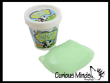 Ice Cream Container Slime -  Stretchy, Gooey, Drippy Slime - Putty - Goo