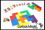 Z DISCONTINUED - Learning game: Pentominoes Pattern Match Busy Bag