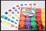 CARDS ONLY - Large Chunky Wood Lacing Bead Busy Bag with Pattern Cards - Perfect for fine motor work, montessori, pattern matching and quiet activity