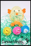 SALE - EASTER Basket Busy Bag filler - Eggs and Chicks in Chick Egg - Color Matching Busy Bag