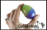 CLEARANCE - SALE - Easter Eggs Filled with Iridescent Slime Slime - Putty