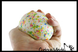 Jaw Breaker Stress Ball - Hard Durable Soft Bouncy Ball - Fidget
