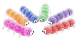 Jumbo Caterpillar Water Bead Filled Squeeze Stress Ball - Sensory, Stress, Fidget Toy - Soothing
