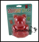 Jumbo Gummy Bear - Large Squishy Sensory Fidget Toy