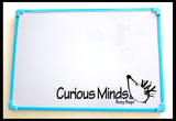 "CLEARANCE - SALE -  Giant 12""x18"" Mangnetic Dry Erase Board"