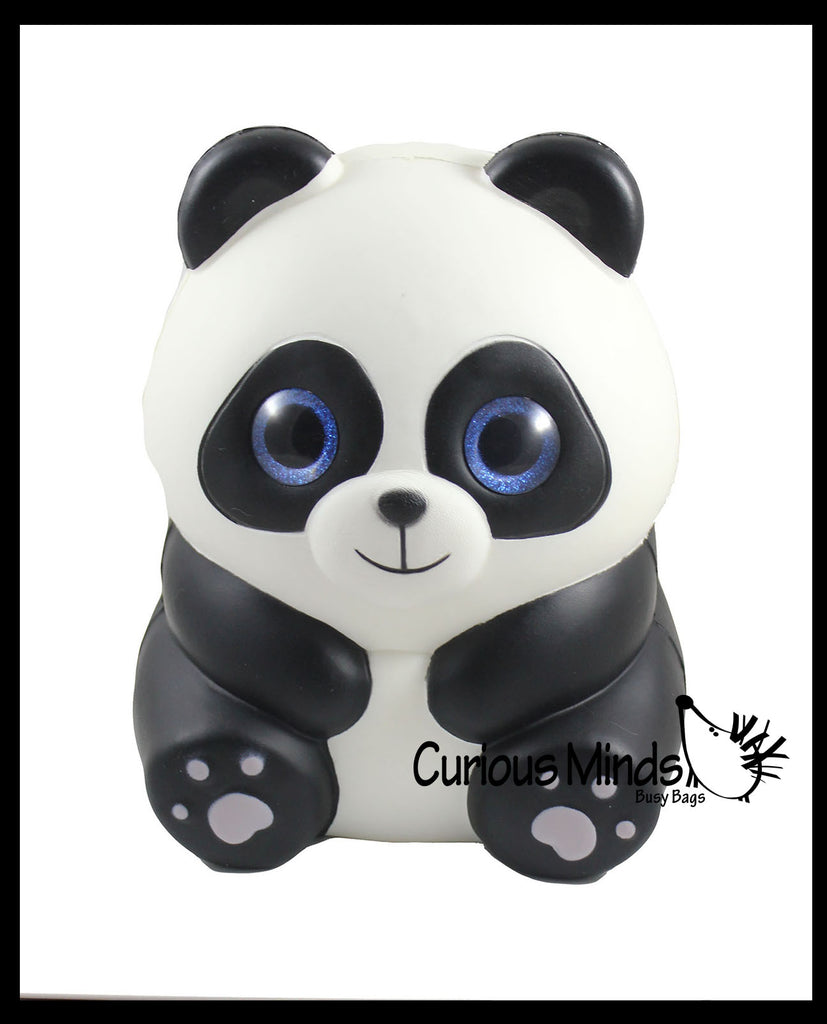 JUMBO Panda Squishy Slow Rise Foam Pet Animal Toy -  Scented Sensory, Stress, Fidget Toy
