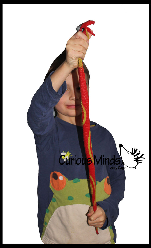 Jumbo Super Stretchy Snakes - Sensory Fidget Toy