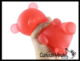 Soft Large Mochi Gummy Bear - Large Squishy Sensory Fidget Toy