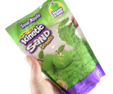 Scented Kinetic Sand Solid Color 8oz Bag - Stretchy Soft Moving Sand-Like  putty/dough/slime