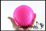 Jumbo Nubby Bumpy Stretch Squishy Ball - Sensory Fidget Stress Toy
