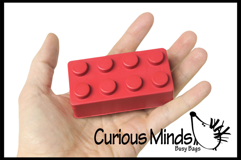 Building Block Brick Stress Ball