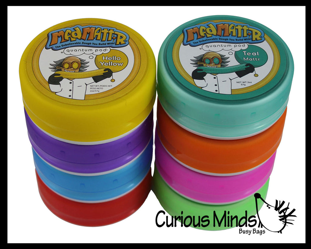 Mad MattR Sand/Doh - Stretchy Soft Moving Sand-Like  putty/dough/slime