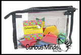 Travel Busy Bag - Magnetic Pattern Blocks with Pattern Cards