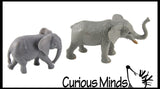 Safari Mommy and Baby Animal Figurines Replicas - Matching Game