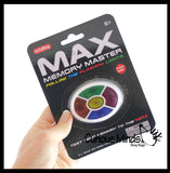 MAX Color Pattern Memory Game - Repeat Patterns