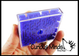 CLEARNANCE - SALE - Maze Games - Double-sided Pill Maze Toys - Party Favors - Travel Toy - Ball Maze