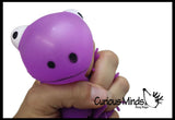Small Puffer Frog Ball - Squishy Sensory Fidget Ball Toy