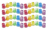 120 Piece Easter Egg Eraser Filler Set - Small Toy Prize Assortment Egg Hunt (10 DOZEN)