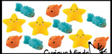 Small Mochi Squishy Animals - Kawaii -  Sensory, Stress, Fidget Party Favor Toy